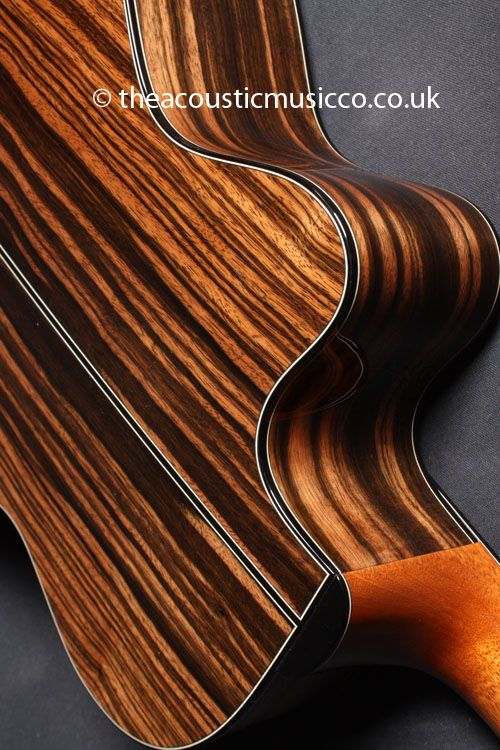 ebony guitar Macassar