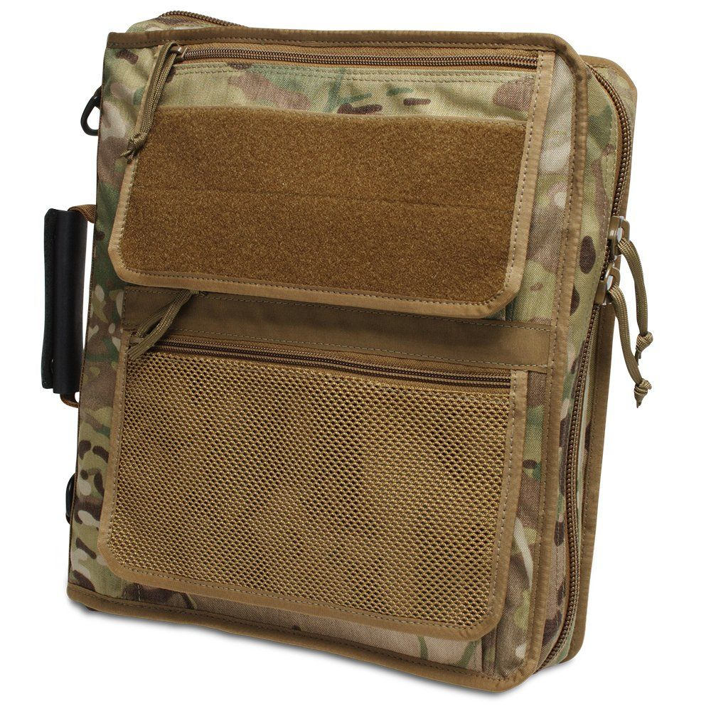 Super-sized Rugged 3-Ring Binder Case System That Comes