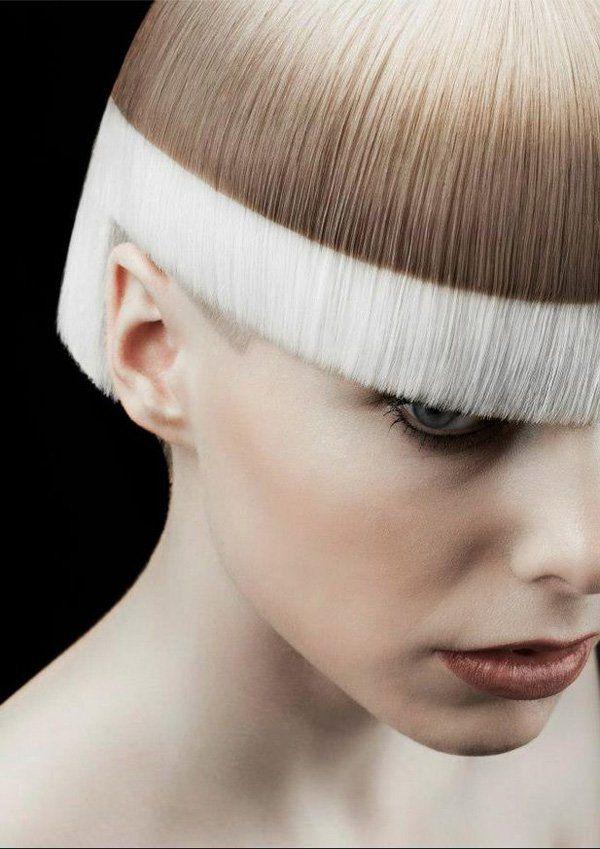 30 Hot Dyed Hair Ideas White Hair Hair Dye And Bangs
