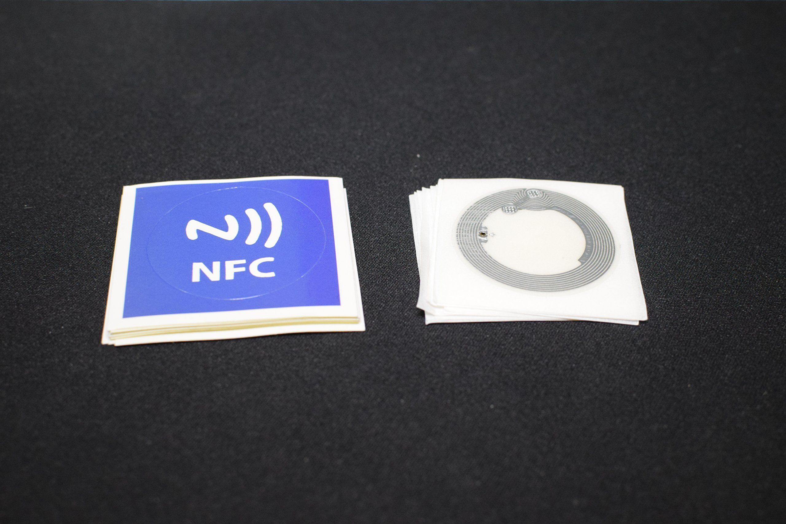 10 NFC Inlay Sticker + 10 Overlay Sticker Mifare 1k Paper
