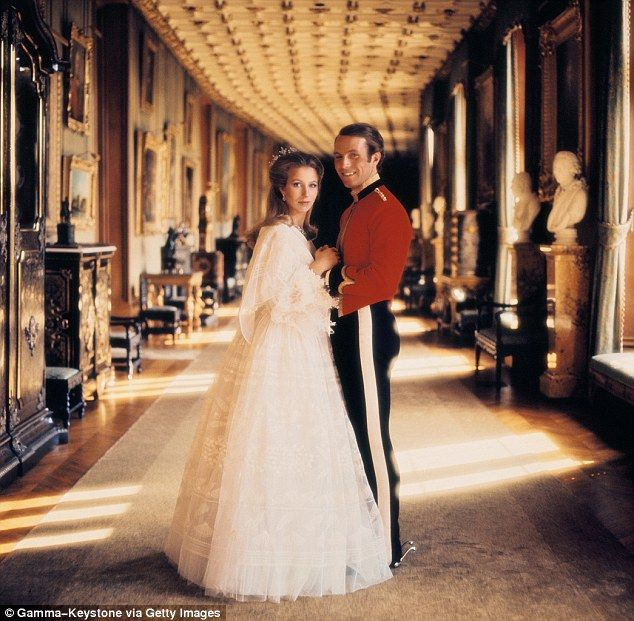 Wedding Dance At The Altar: Princess Anne, Princess And