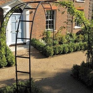 Harrod Rose Arch Gazebos is part of Rose garden Arch - A Harrod decorative galvanised steel Rose Arch Gazebo will create a stunning feature in your garden, far from just a substantial garden structure for climbing plants, the arch crown will be a magnificent year round focal point  Read More