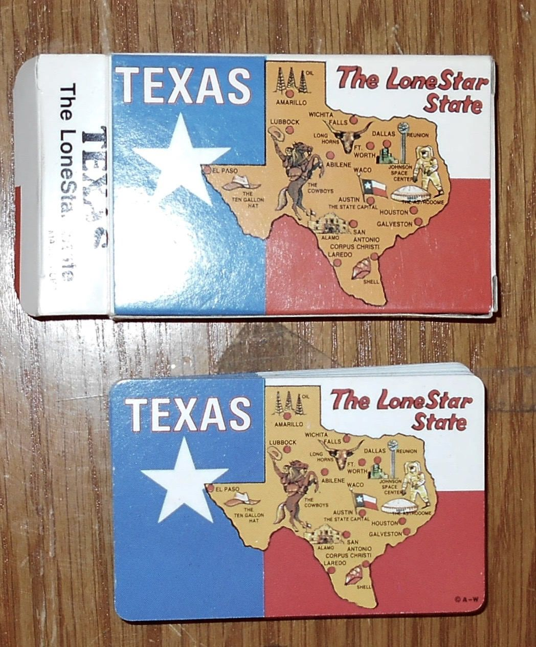 Plastic coated playing cards texas the lone star state playing plastic coated playing cards texas the lone star state playing cards by luv2junk gumiabroncs Gallery