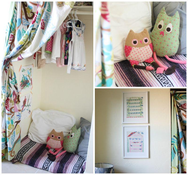 A Cozy Little Nook Inside The Closet Reside Via