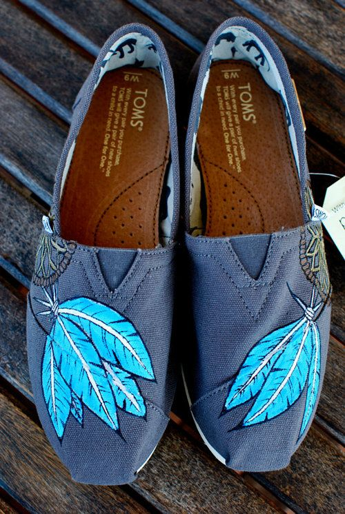 Custom painted Toms. :)