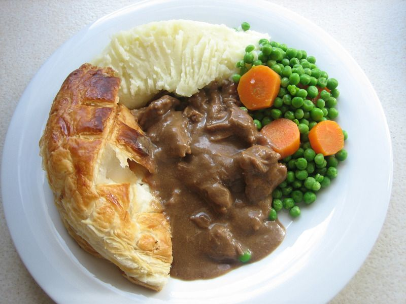 Steak pie dinner | Food, Recipes from heaven, New years ...