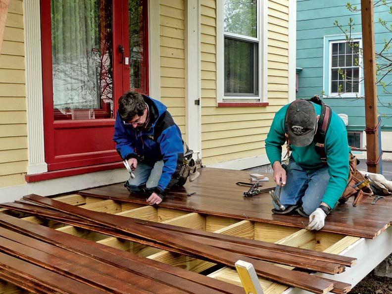 Fixing The Porch Crafty Diy Ideas Porch Repair Porch
