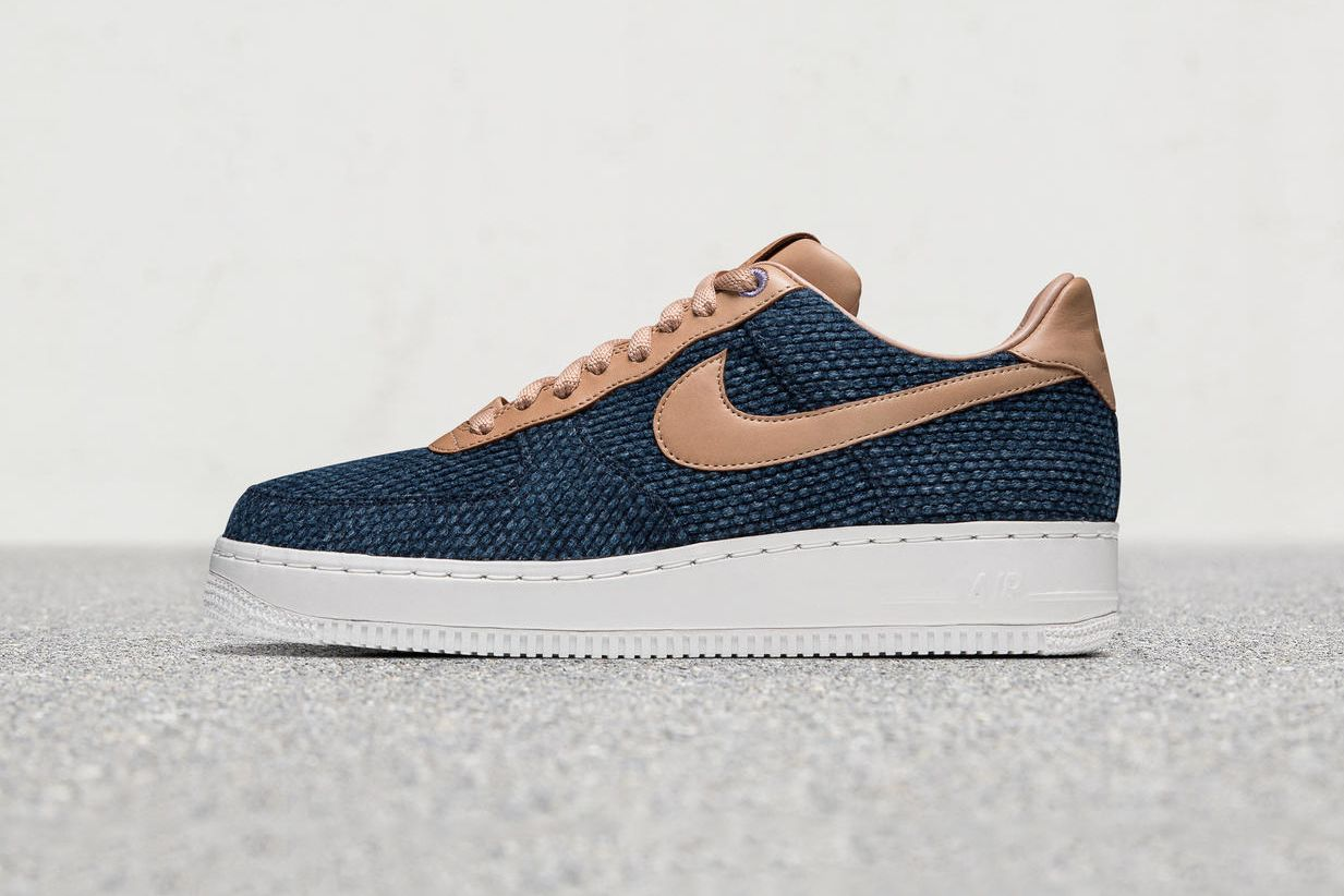 ad72dc954 The Nike Air Force 1 Low Gets Dressed in Rich Japanese Indigo ...
