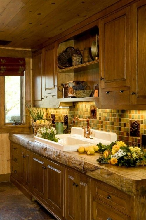 Seal A Hardwood Slab For Kitchen Counter Rustic Kitchen