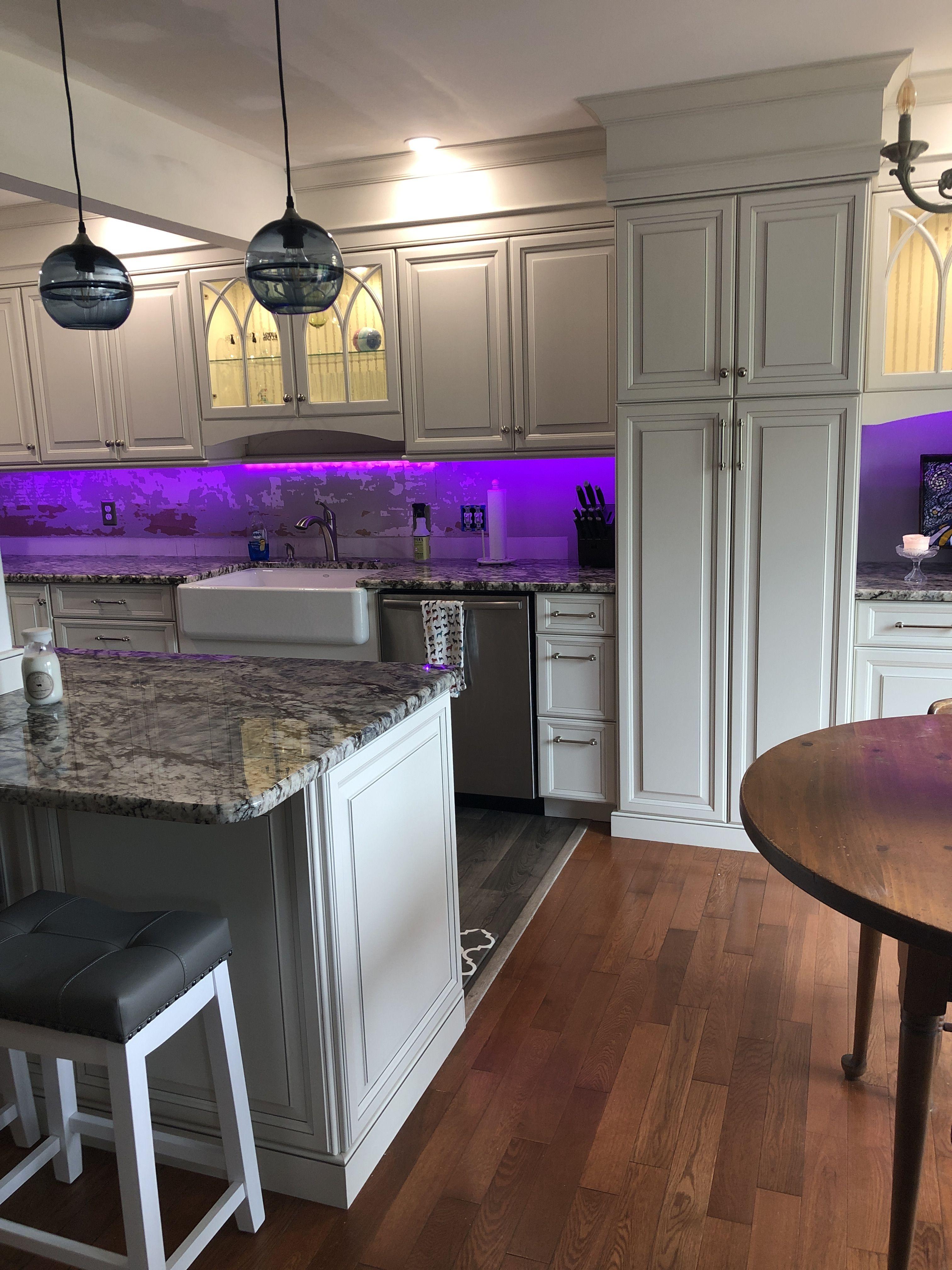 Purple | Kitchen cabinets, Kitchen, Home decor