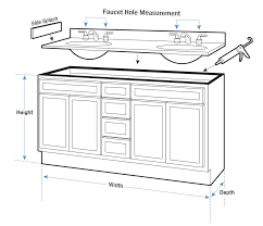 If You Were Wondering Which Is The Standard Height Of A Regular Bathroom Vanity Cabinet That Would Bathroom Vanity Sizes Bathroom Vanity Tops Bathroom Vanity
