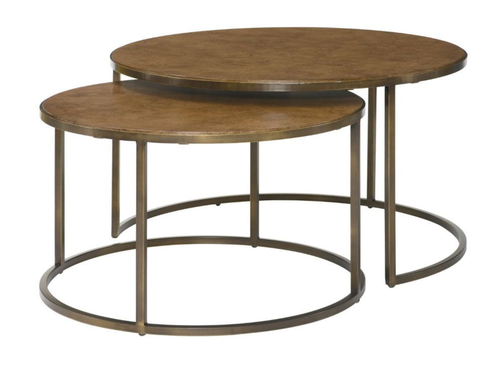 Soho Round Cocktail Table Coffee Table Coffee Table Joss And Main Nesting Coffee Tables