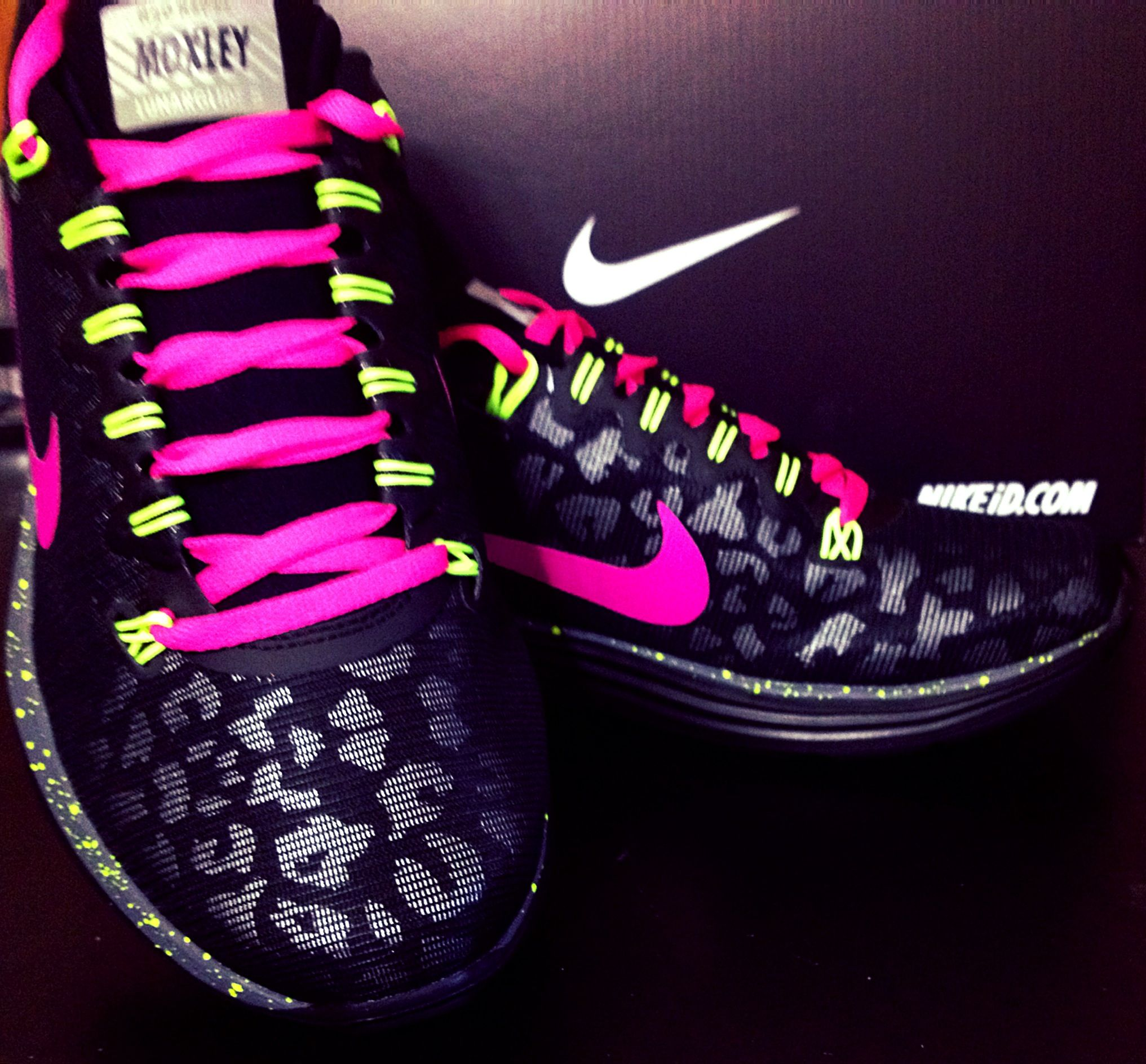 My new leopard Nike ID custom Lunarglides!