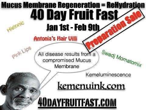 How to do the 40 Day Mucus Membrane Fast | Projects to Try