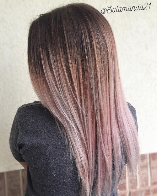 38 Best Balayage Hair Color Ideas Right Now faded
