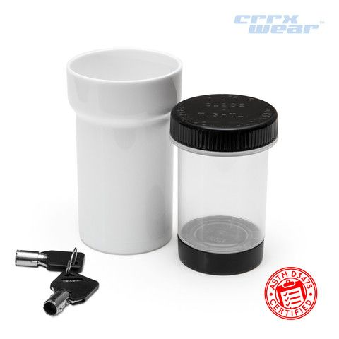 30 Dram Child Proof Lockable Jars (Lockz™). Lock UpA ...