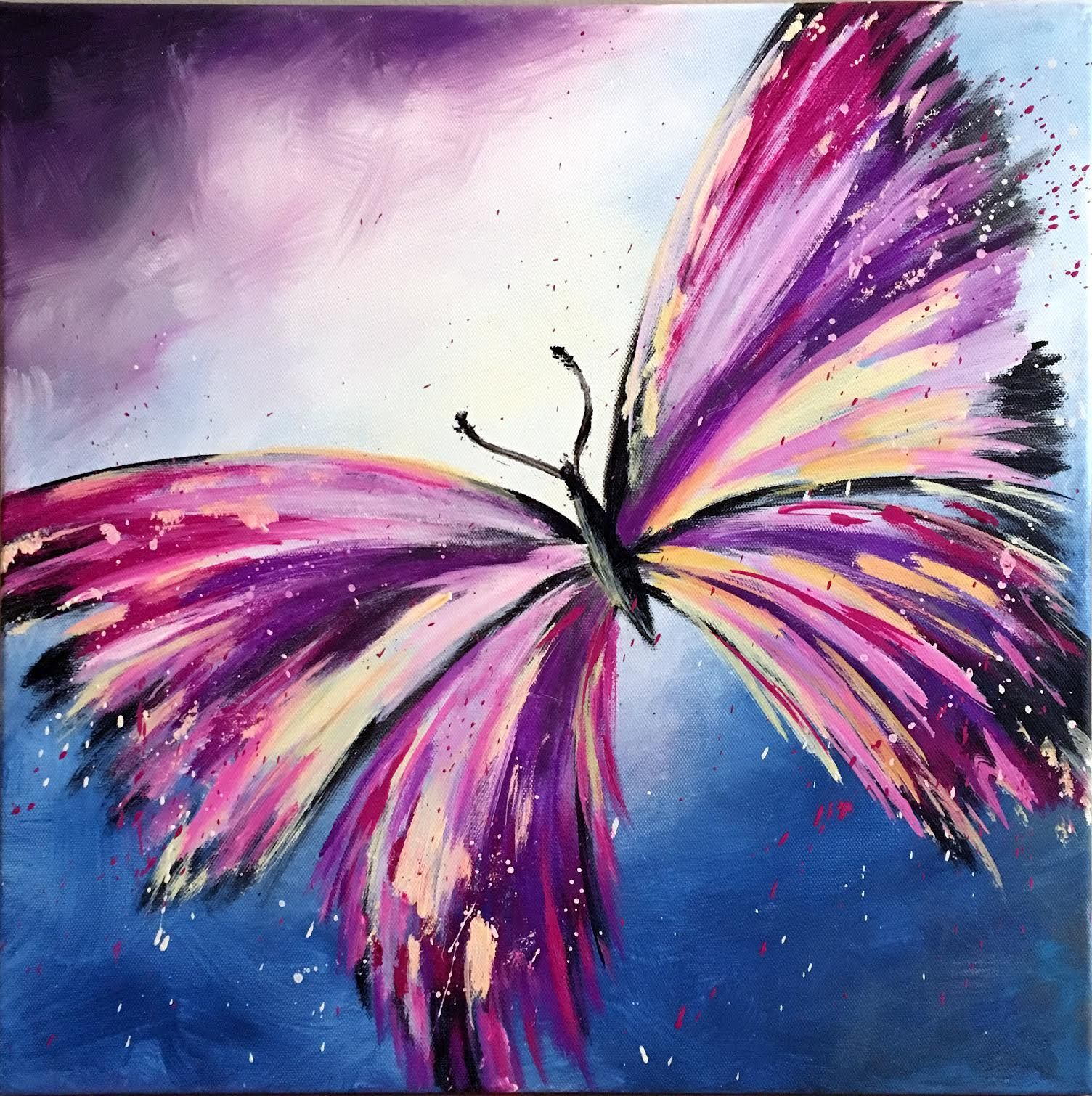 Image result for butterfly painting