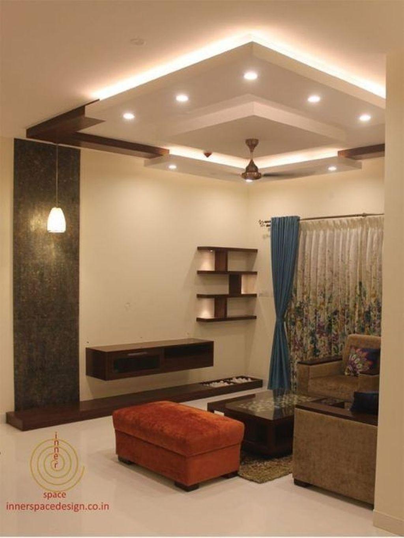 37 Unique And Simple Ceiling Design in 2020 | Bedroom ...