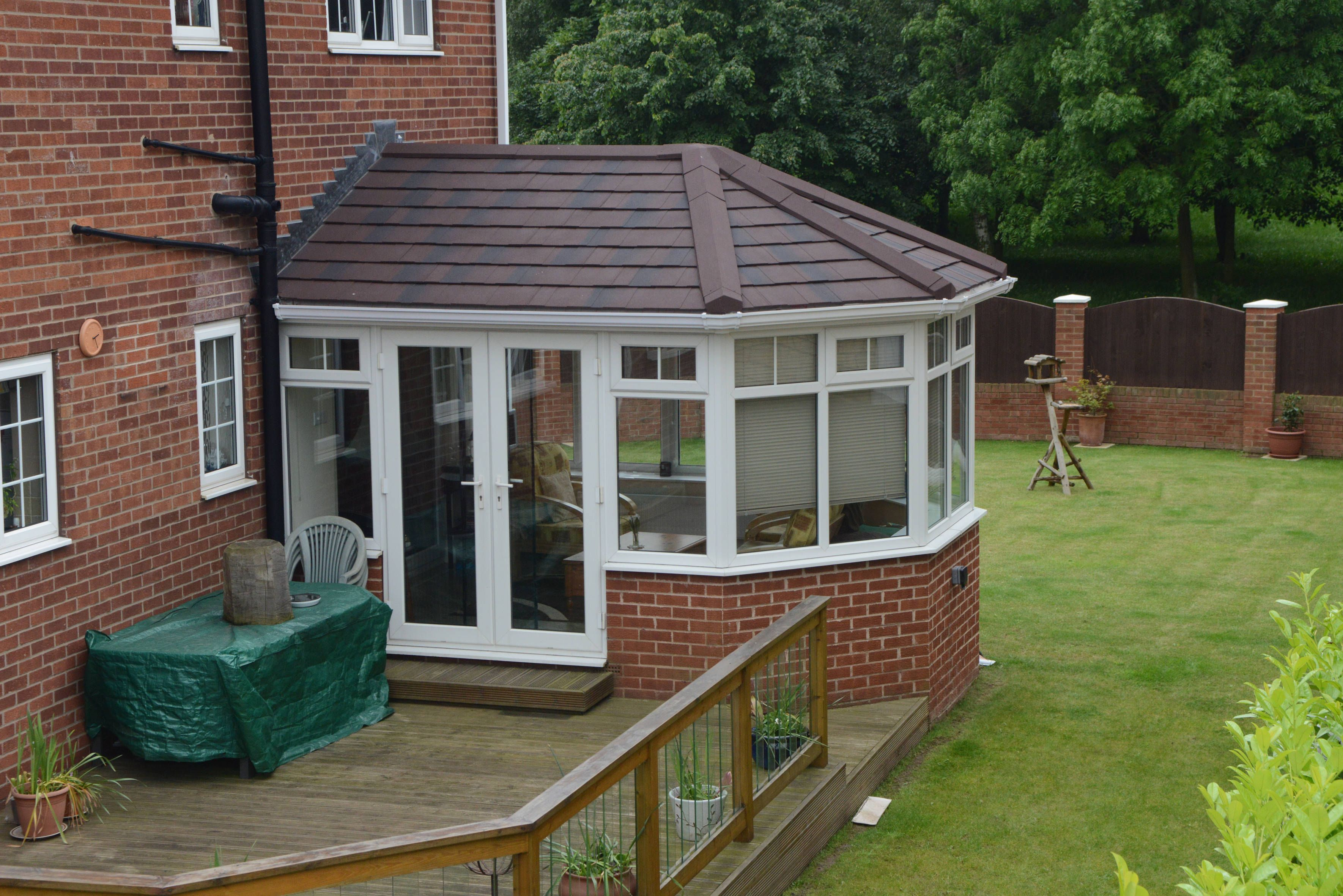 Tiled Roof Conservatory Lifestyle Garden Room Extensions Conservatory Roof Conservatory