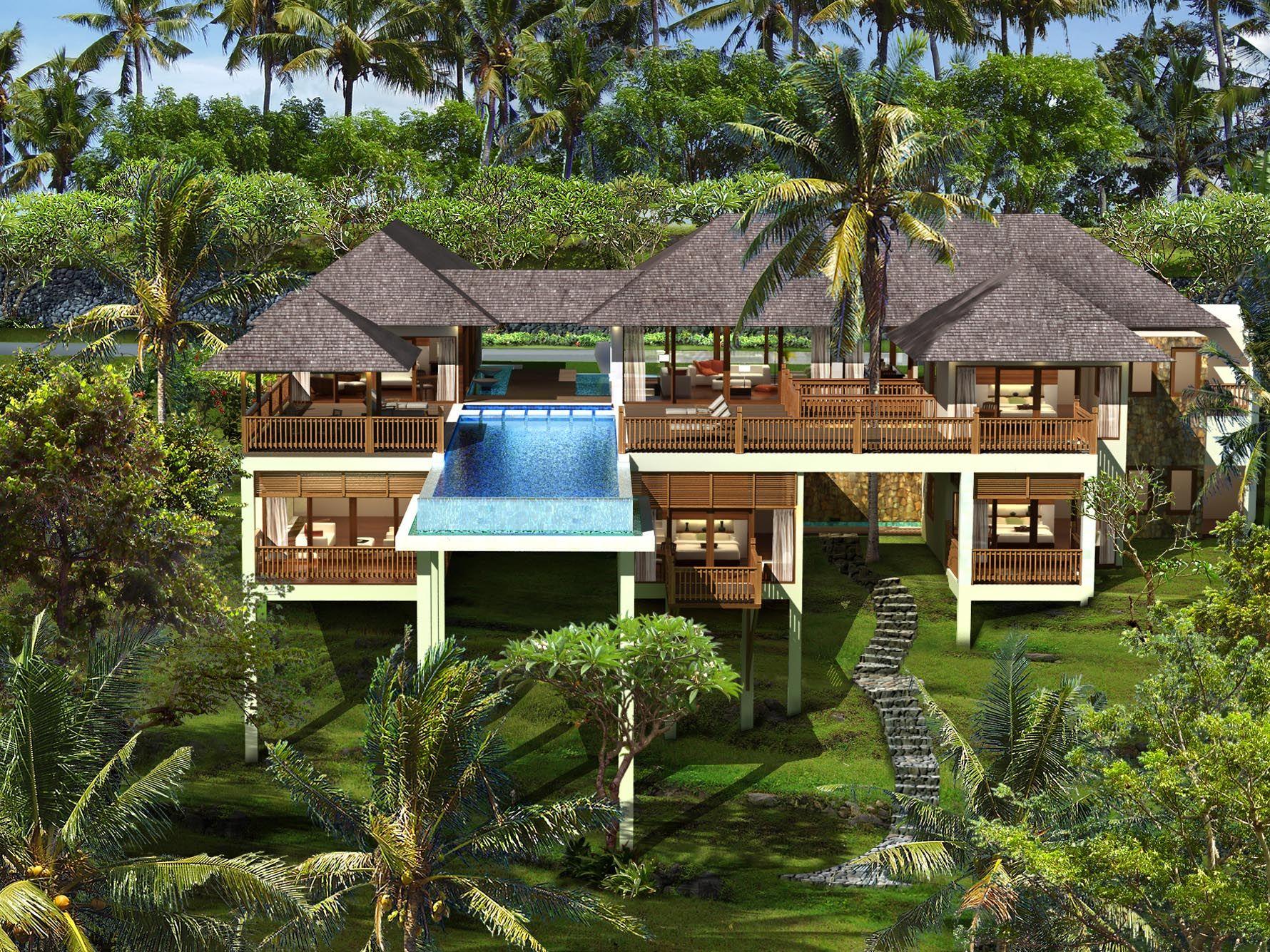 Villa design tropical architecture modern architecture design modern house design bali architecture