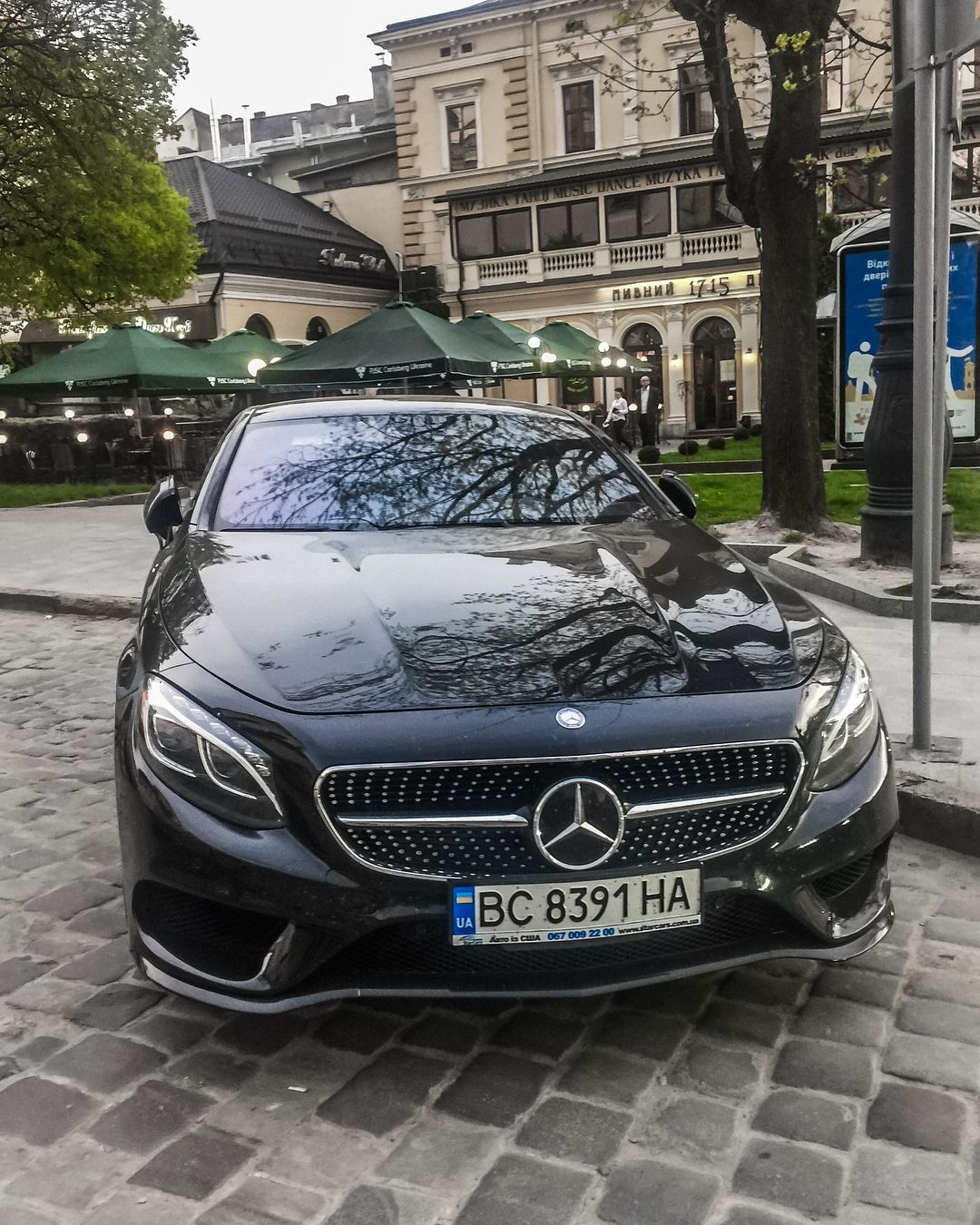 Mercedes Benz S550 Coupe With S63 Amg Kit Swipe