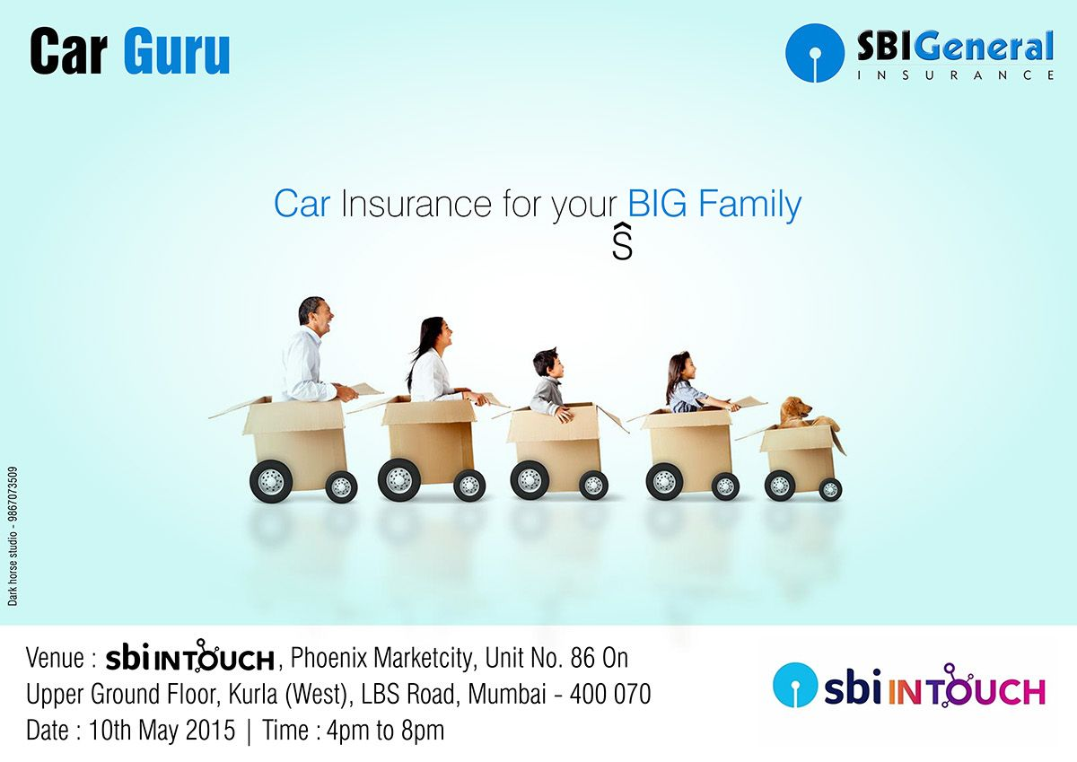 Sbi General Ads On Behance Ads Big Family Toy Car