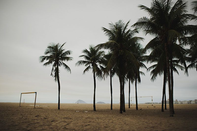 Copacabana beach early in the morning...
