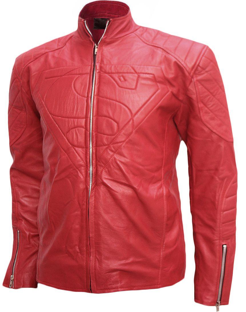 Smallville Season 10 Superman Leather Jacket LJM