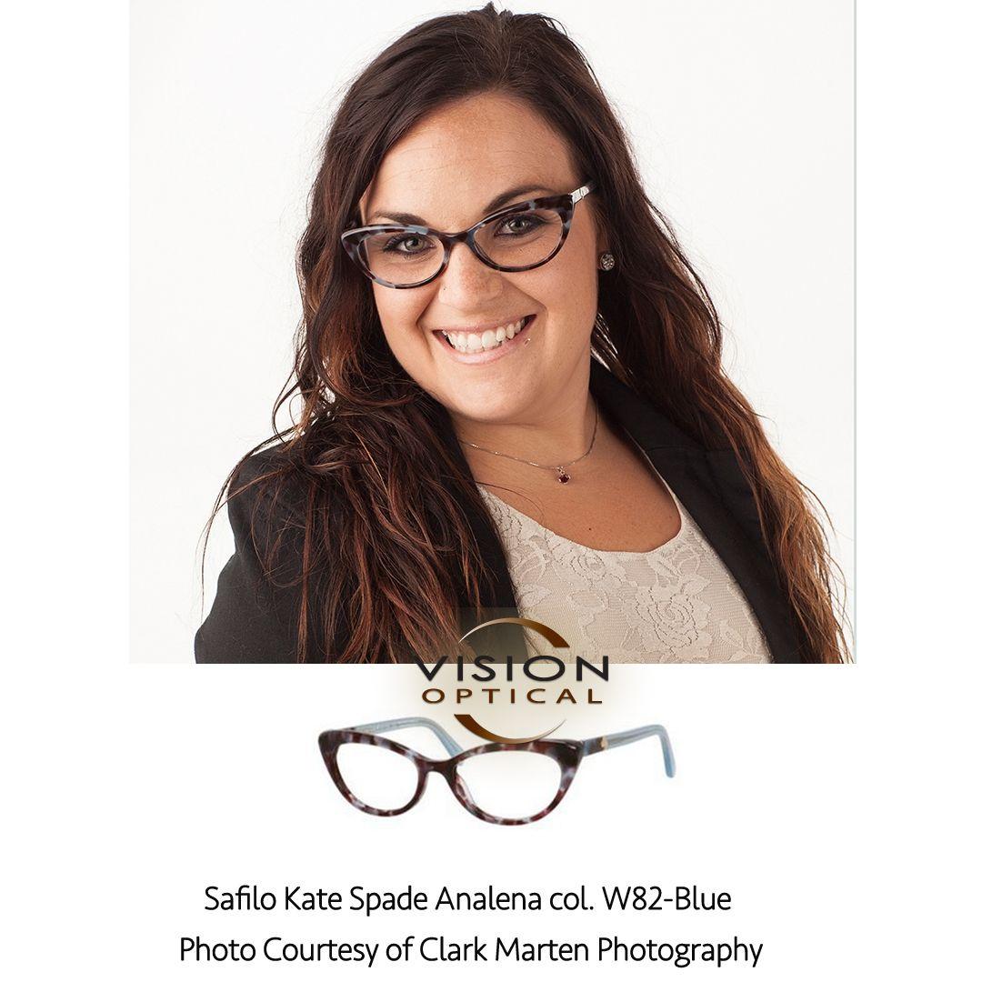 Kate Spade Safilo Eyeglass Frames : Safilo Kate Spade Analena col. W82-Blue Photo Courtesy of ...