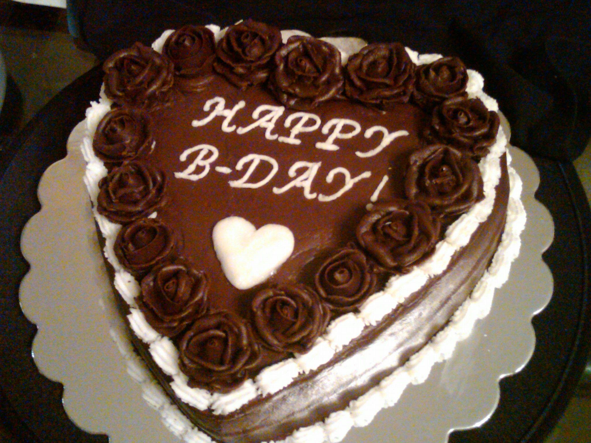 Terrific Chocolate Cake For My Husbands Birthday Cake Chocolate Cake Funny Birthday Cards Online Fluifree Goldxyz