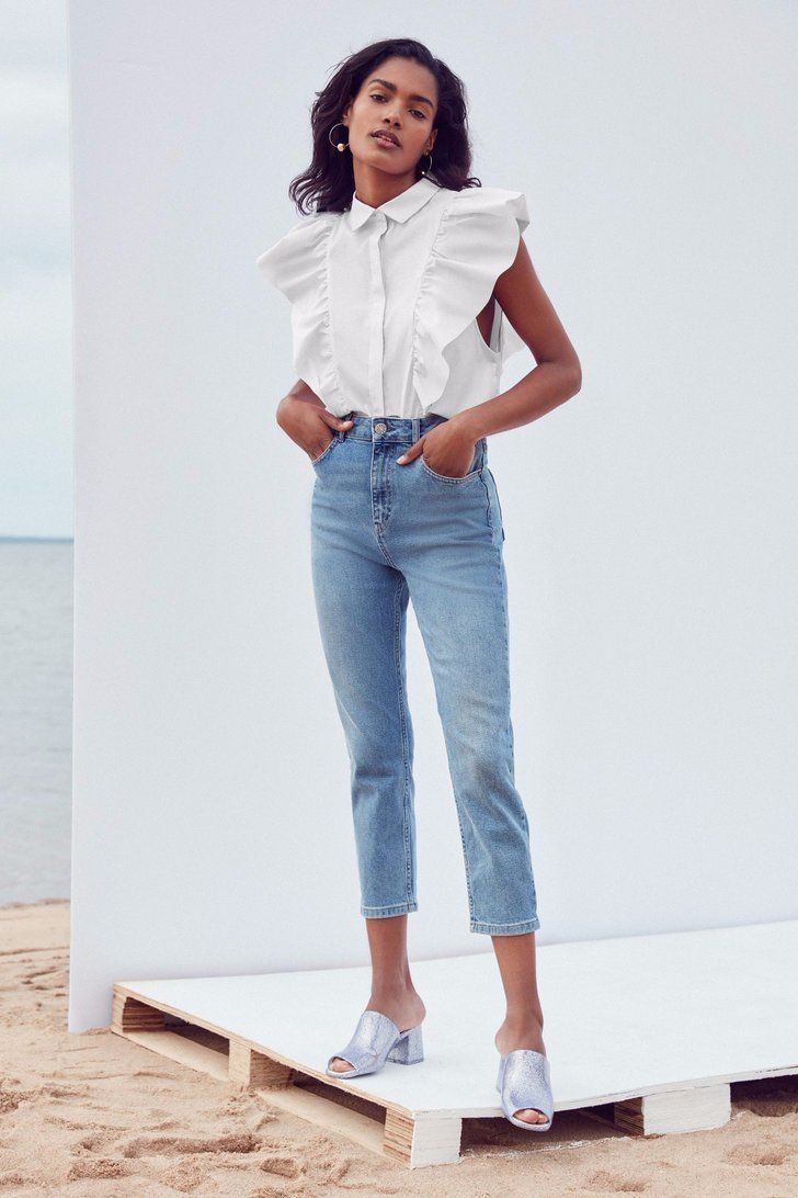 We Found the 11 Best High-Waisted Jeans So All You Have to Do Is Shop