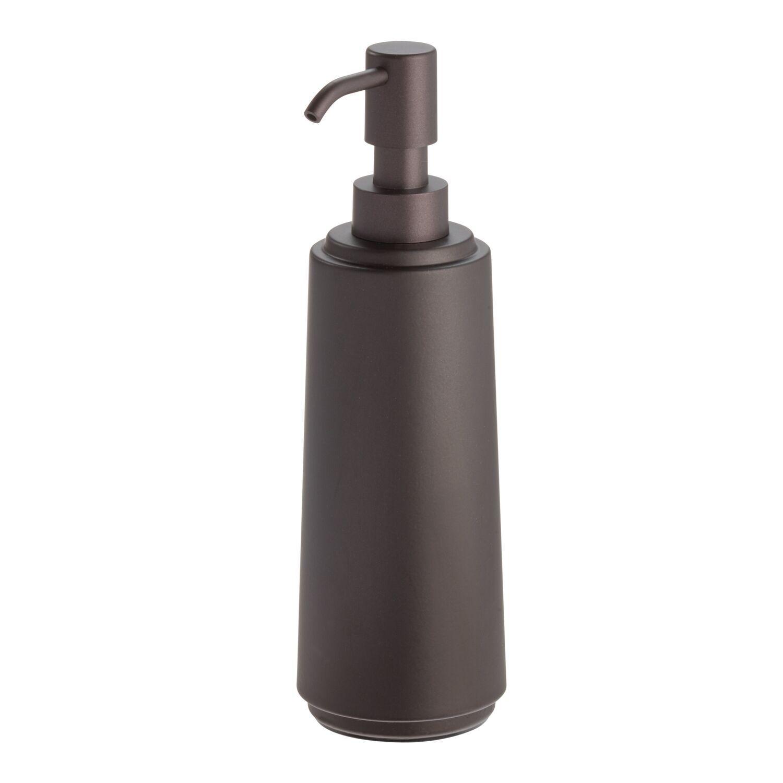 Better Homes Gardens Slim Soap Dispenser Bronze Walmart Com Kitchen Soap Dispenser Bathroom Soap Dispenser Soap Pump Dispenser