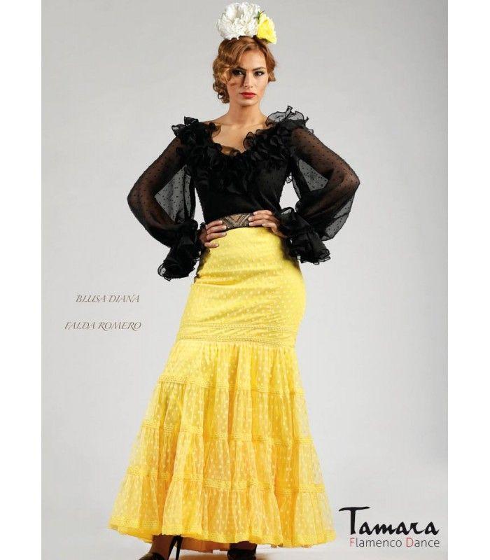Roal Blusa Jaen Faldas y blusas flamencas | Tamara Flamenco