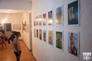 Exposición del segundo Bicicletandario realizado por el Colectivo Kokoro. Ilustraciones realizadas por dibujantes de Ciudad Real (España), basadas en la figura de la bicicleta. Exposición presentada durante el evento Guateque Kokoro 2016 en Casa del Parque (Parque Gasset, Ciudad Real, España)