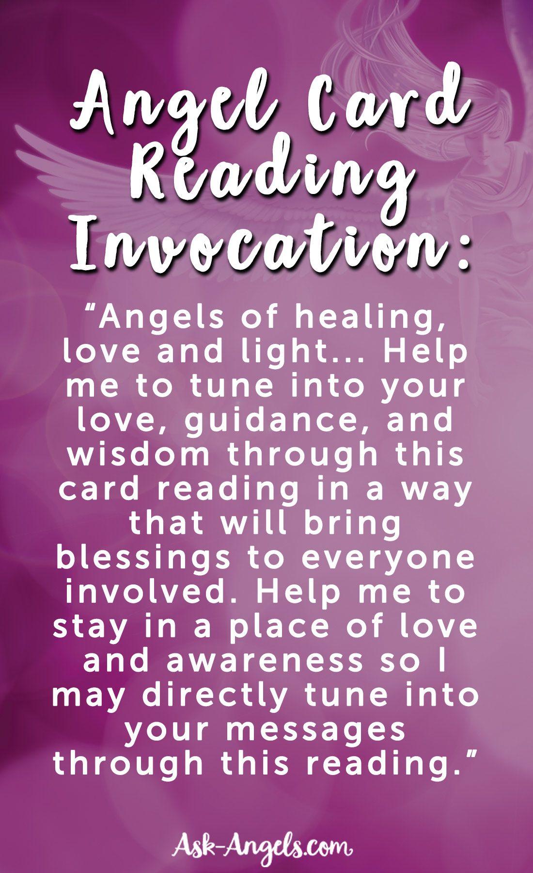 Angel Cards Get Free Angel Card Readings On This App Angel Cards Card Reading Angel Cards Reading