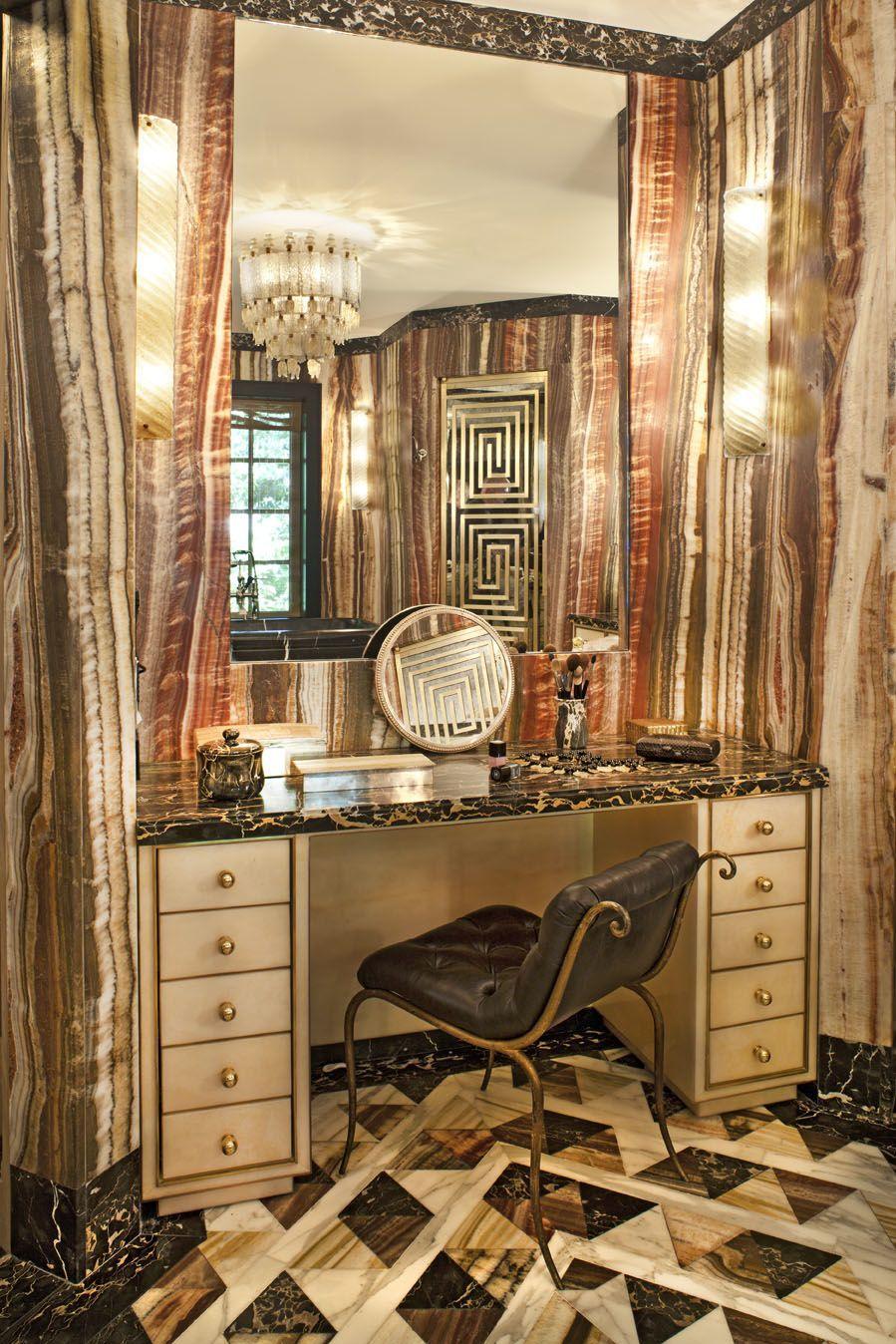 Kelly Wearstler Interiors Evergreen Residence Bathroom