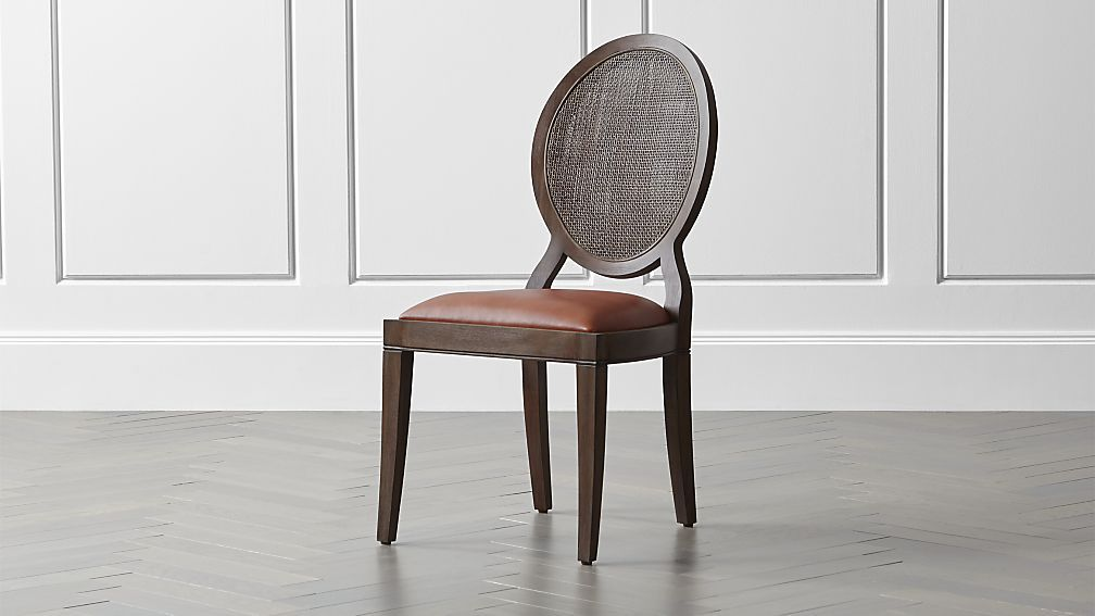 Crate And Barrel Mahogany Dining Table Dining Room Chairs