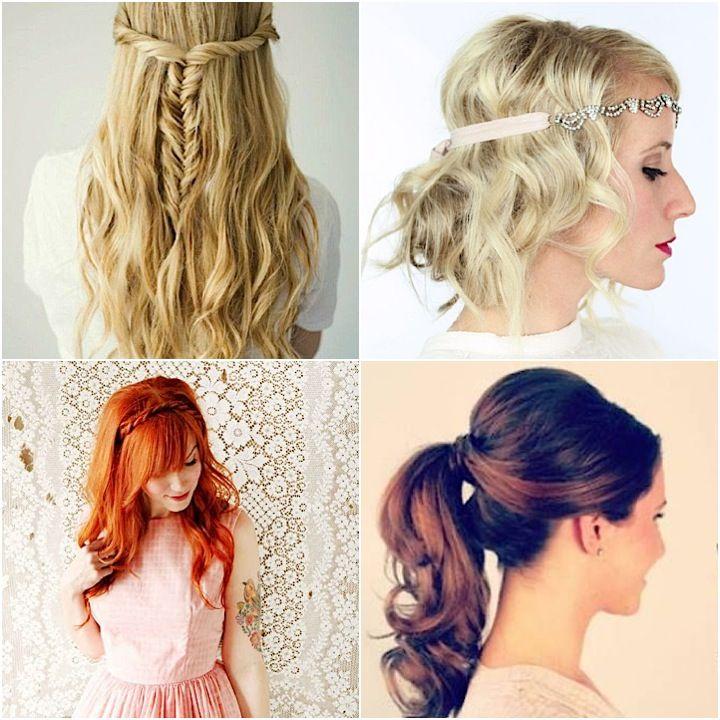 Tutorials Super Easy DIY Wedding Hairstyles DIY Wedding - Bridesmaid hairstyle diy