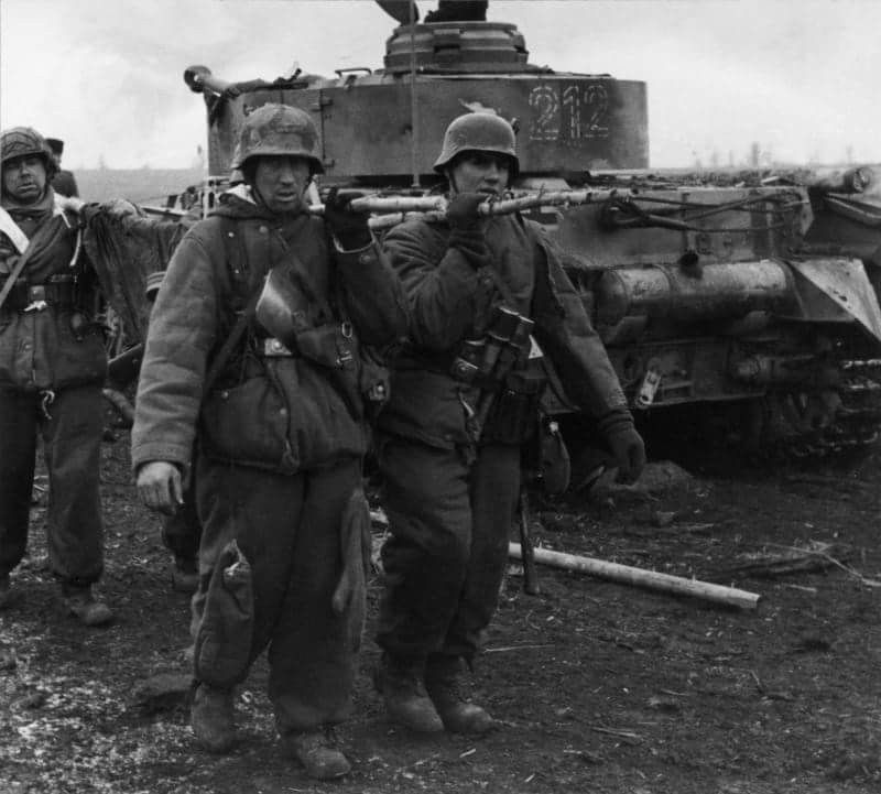 Panzergrenadiers of the 20th Panzer Division of the