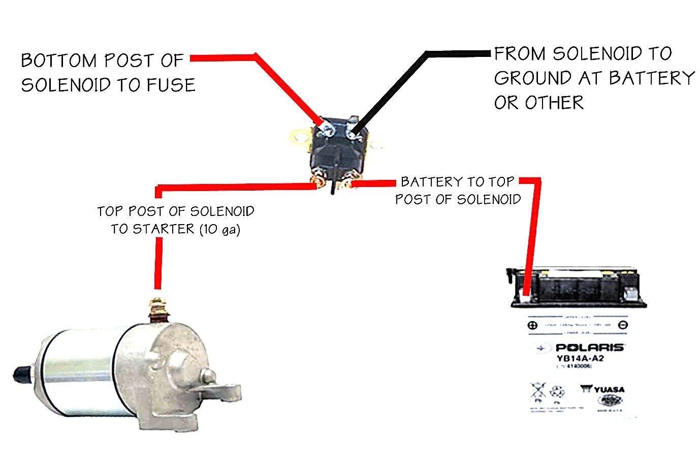 12v Starter solenoid Wiring Diagram | Electrical wiring diagram, Electrical  diagram, Car starterPinterest