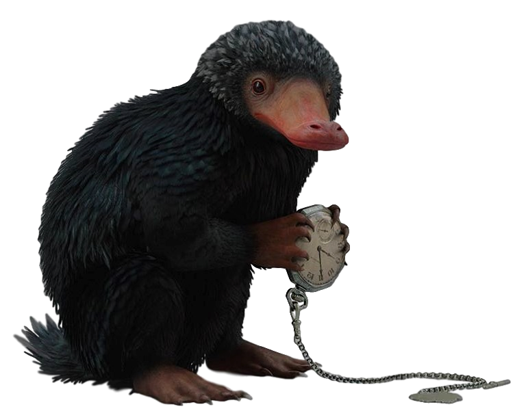 Fantastic Beasts Niffler Transparent Background! by Camo