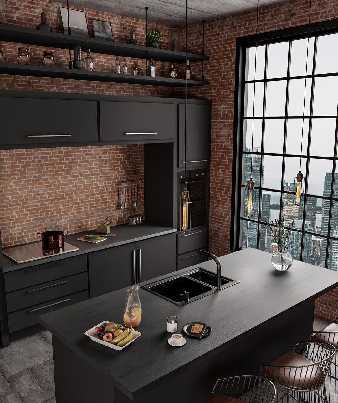 """Photo of ᴛ ᴀ ᴛ s ʏ ʏ ᴛ ᴄ ᴛ ᴜ ᴜ ʀ. on Instagram: """"Industrial Kitchen …"""
