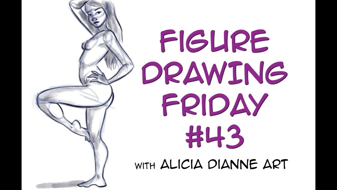 Figure Drawing Friday (on a Saturday) | Live Life Drawing