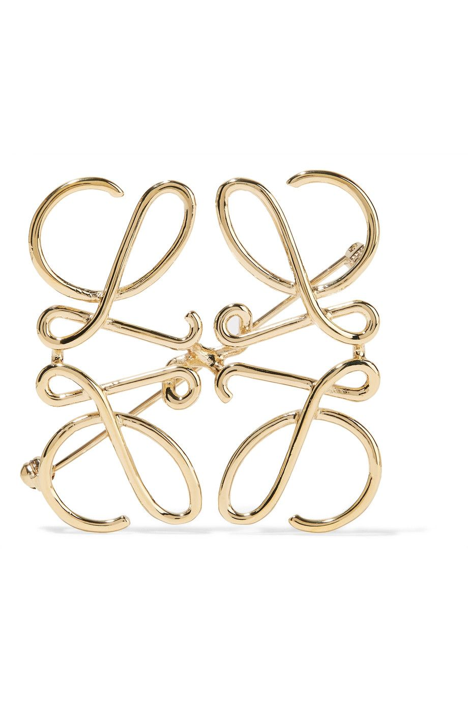 Loewe Brooch and Pin for Women On Sale in Outlet, Silver, acetate, 2017, One Size