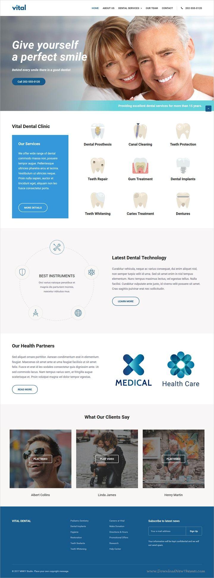 Vital Health Medical And Wellness Wordpress Theme Medical Health Care Wellness Industry Health Care