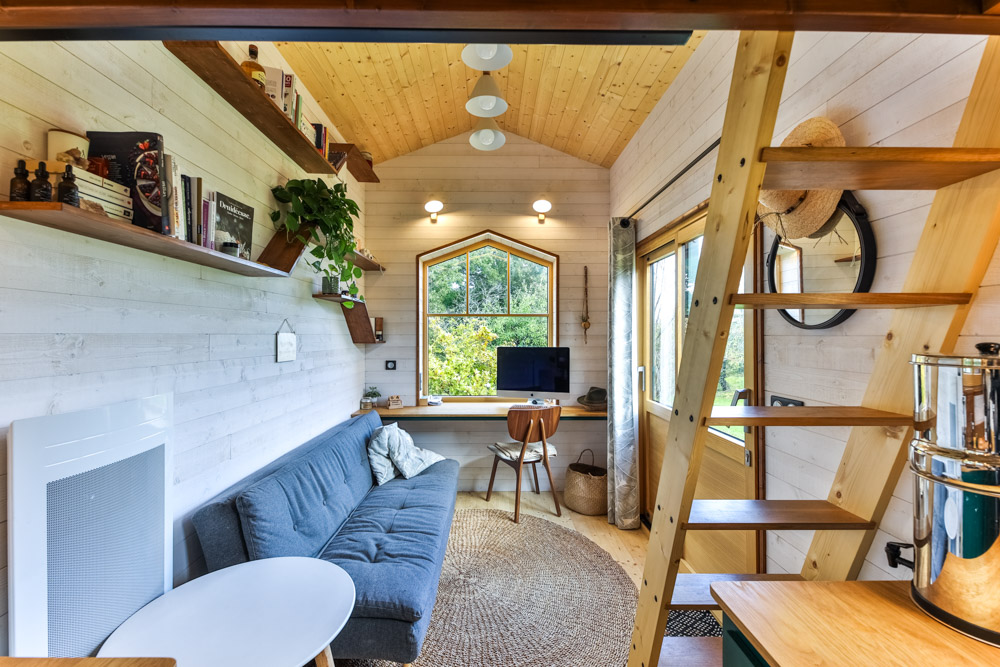 Dream Minimalist Tiny House In France Living Big In A