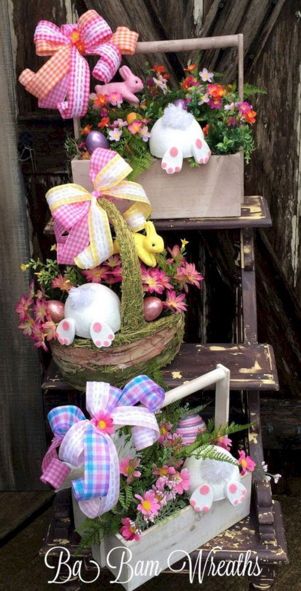 Photo of 30 DIY Easter outdoor decorations