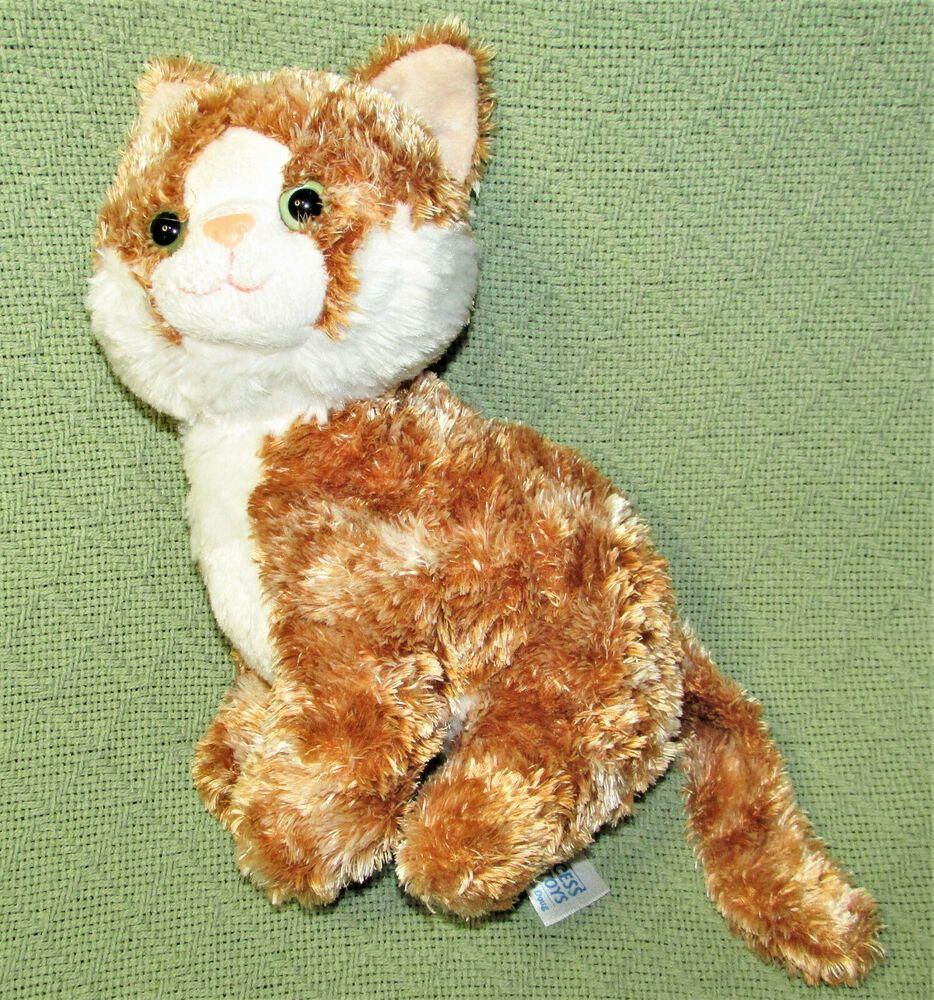 10 Tabby Cat Princess Soft Toys Melissa Doug Beanbag Plush