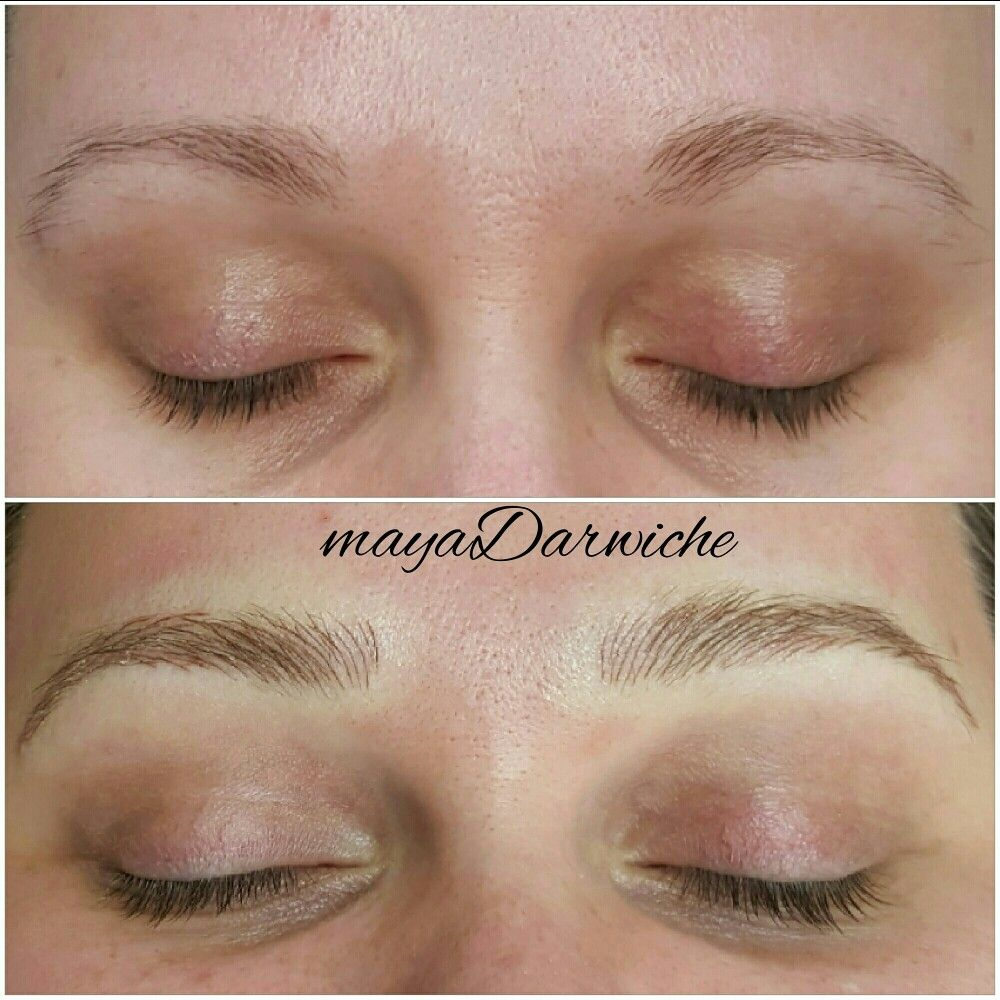 Eyebrow tattoo micropigmentation microblading 3dbrows for How is microblading different to tattooing