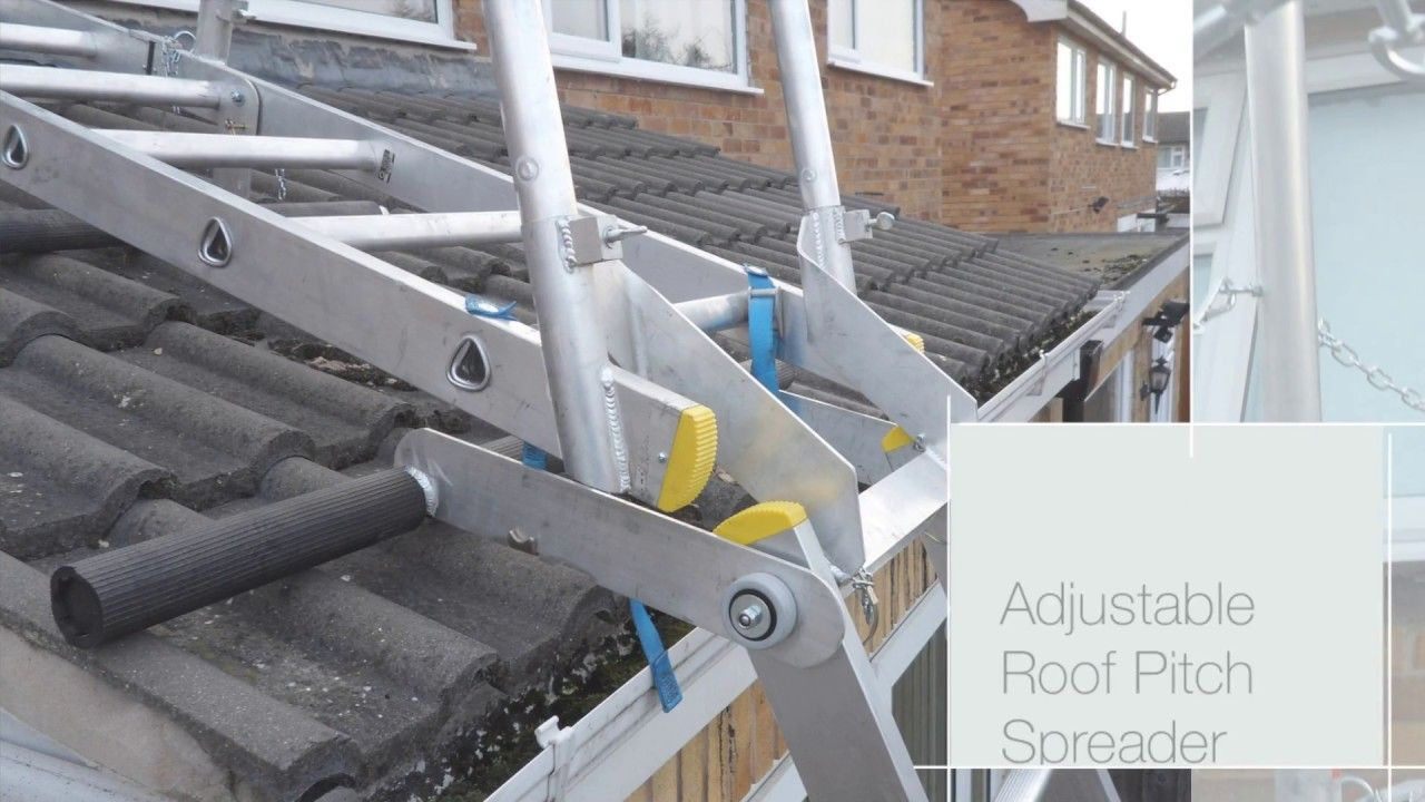 Sloping Roof System / Pitched Roof Ladder / Conservatory